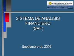 De las Adecuaciones Tecnológicas - Superintendencia Financiera