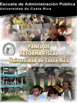 Panel Reforma Fiscal UCR.pps