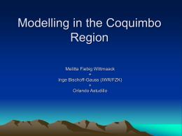Simulaciones de la circulación del Valle del Elqui, Melitta Fiebig