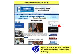 Portal de Empleo Guatemala