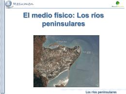 Tema 4. Del Atlántico al Mediterráneo. Las aguas