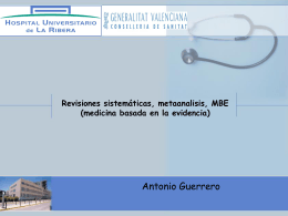 08 Metaanalisis, revisiones, MBA 11 may-14