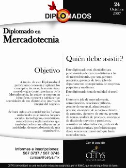 Diplomado en Mercadotecnia 24