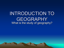 Intro to Geo 5 Themes