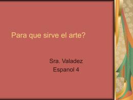 Sabes lo que es el arte?