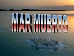 Mar Muerto - sandrabonetto