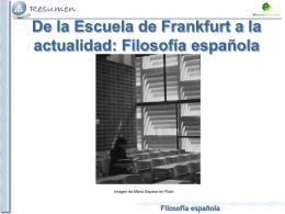 Filosofía española