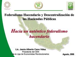 Ponencia 5 - Foro Nacional sobre Federalismo y Descentralización