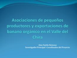 Asociaciones de pequeños productores y exportaciones de banano