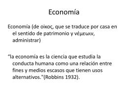 ¿Lo es la Economía?