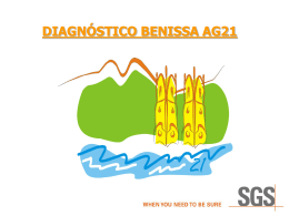BENISSA DIAGNOSTICO MEDIO AMBIENTE