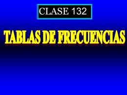 Clase 132: Tablas de Frecuencias - CubaEduca