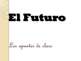 I. Formation of the Future Tense.
