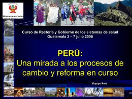 Peru - PAHO/WHO