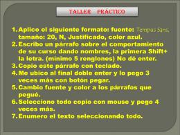 taller práctico web