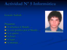 Gonzalo Andrade
