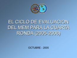 Informe de Evaluación Completa La calidad será mejorada