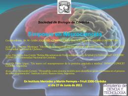 Simposio en Neurociencias - Sociedad de Biología de Córdoba
