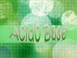 Presentación acido base