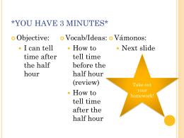 VÁMONOS 4-2 - SenoritaHall