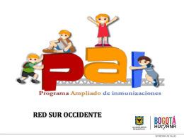 RED SUR OCCIDENTE