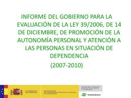 Power Point presentación informe Gobierno evaluación 4