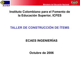 Presentación - Departamento de Ingeniería de Sistemas e Industrial