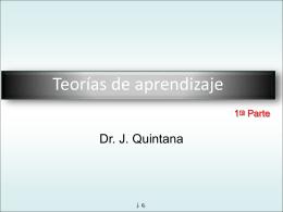 teorias aprendizaje J Quintana-1