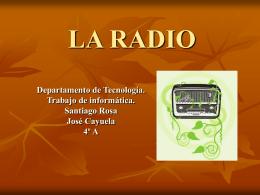 LA RADIO - zeus-jupiter