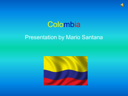 Colombia Slide Show