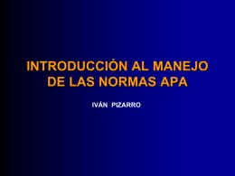 NORMAS APA - CONTINTAROJA.CL