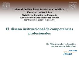 Competencias - División de Estudios de Posgrado. Facultad de