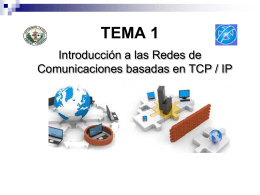 Tema 1 Introduccion a las redes TCP IP