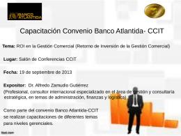 Tema - Banco Atlántida