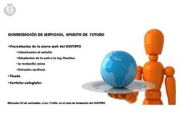 Presentación de la nueva web. - Colegio Oficial de Ingenieros