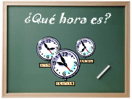 Qué hora es? - Lake Elkhorn Home