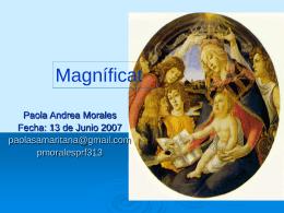 Magnificat - Paola Morales