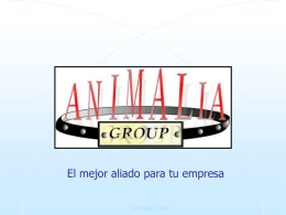 Ejemplo 9 - Animalia Group