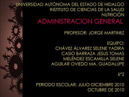 Diapositiva 1 - administration