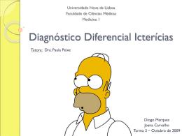 Diagnóstico Diferencial Icterícias