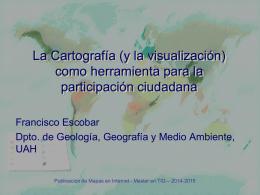 Cartografía y participación