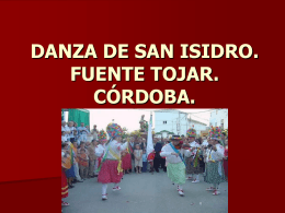 danza de san isidro. fuente tojar. córdoba.