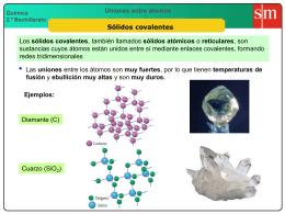 7 Sólidos covalentes
