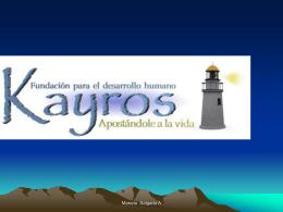 kayros –fundación para el desarrollo humano