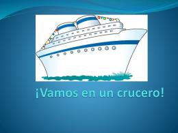 ¡Vamos en un crucero!