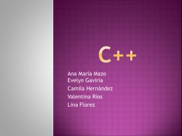 C++ - Moodle