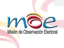 Experiencia MOE (Dr. Jairo Eduardo Oviedo)