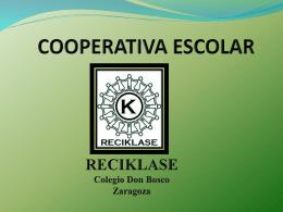 PROCESO DE FORMACIÓN DE LA COOPERATIVA ESCOLAR