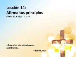 Lección 14