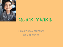 QUICKLY WIKIS